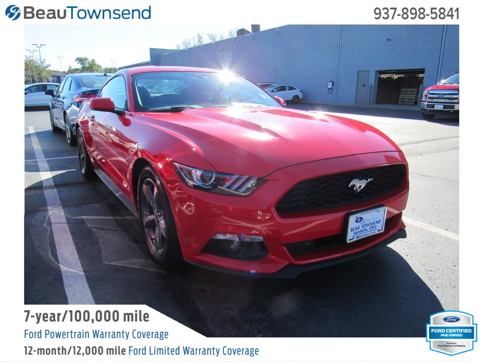 Certified pre owned 2015 ford mustang v6
