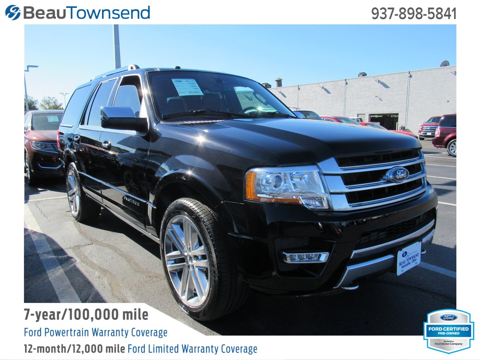 Certified pre owned 2016 ford expedition platinum