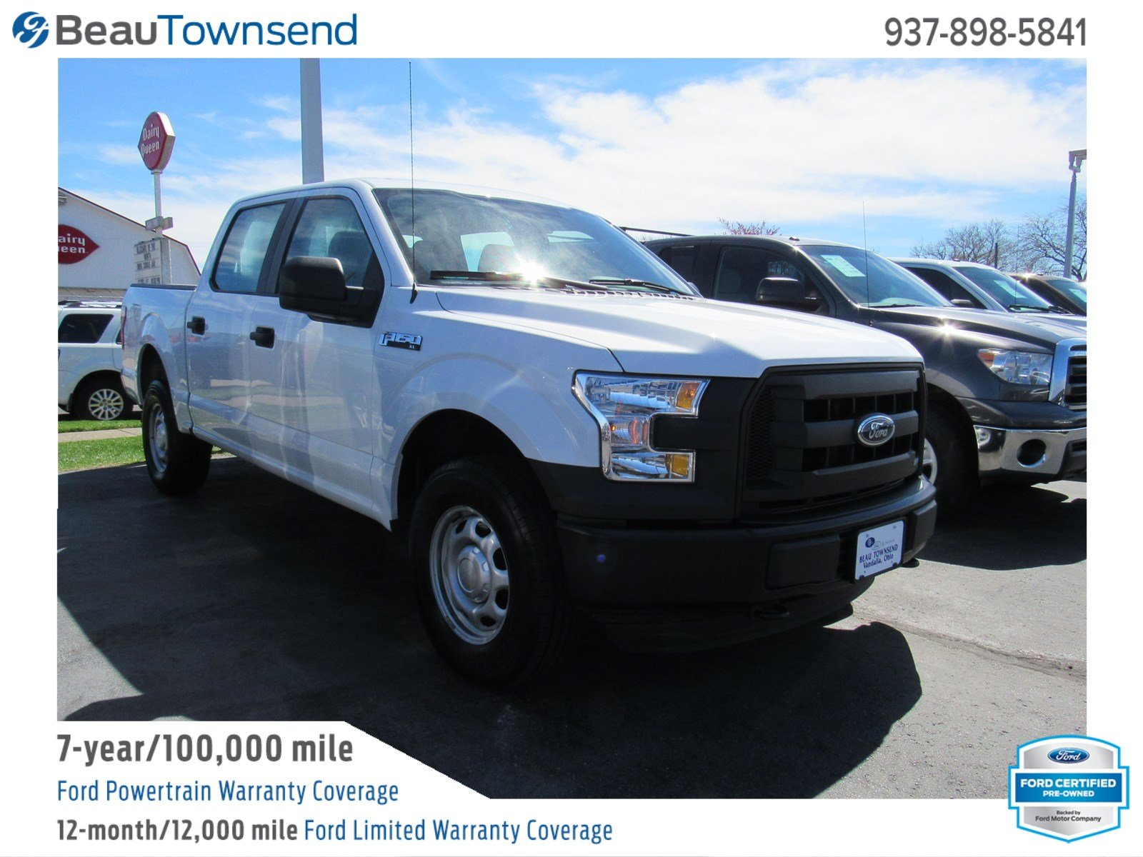 Certified Pre Owned 2016 Ford F 150 Xl