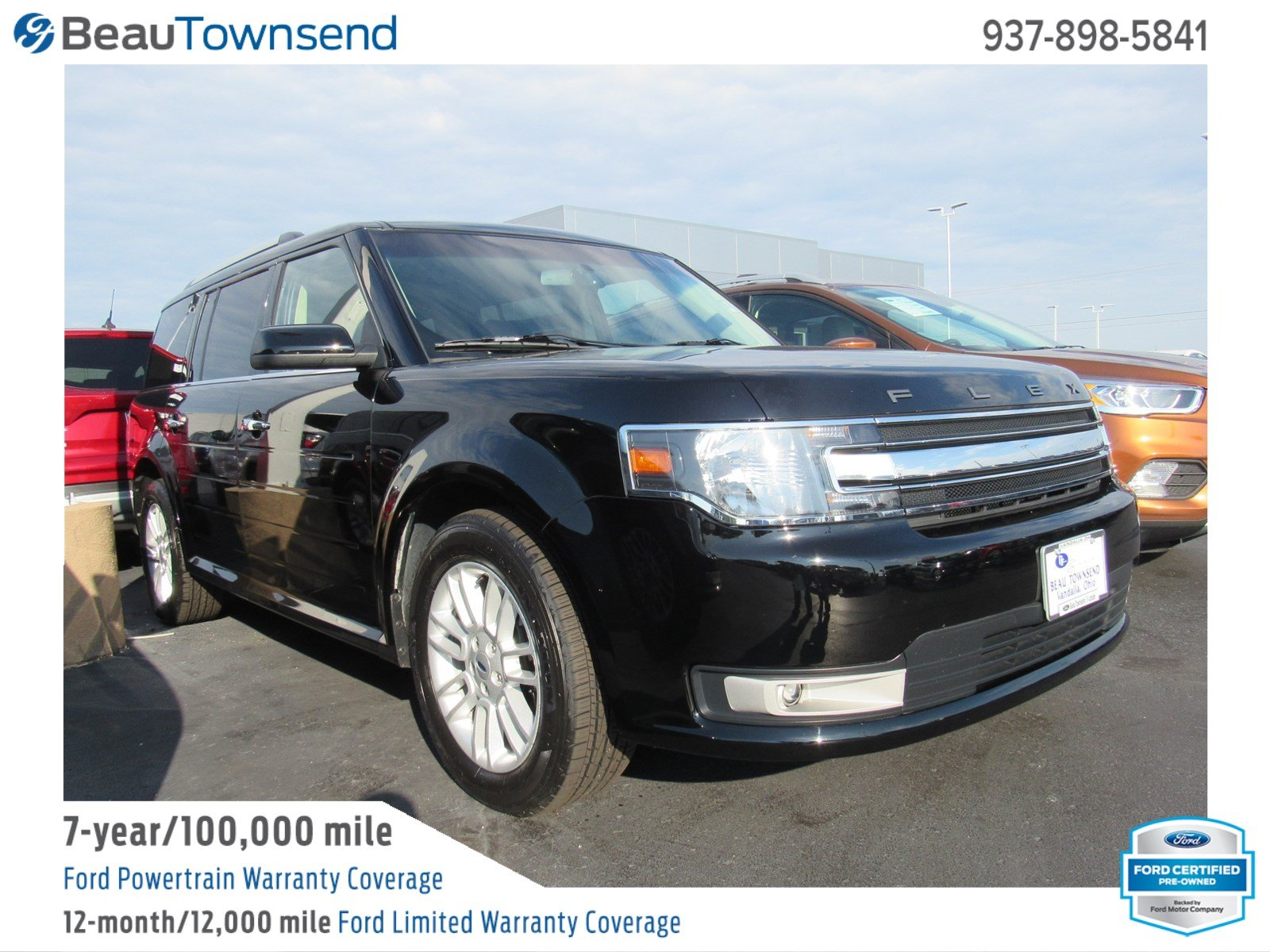 Certified pre owned 2016 ford flex sel