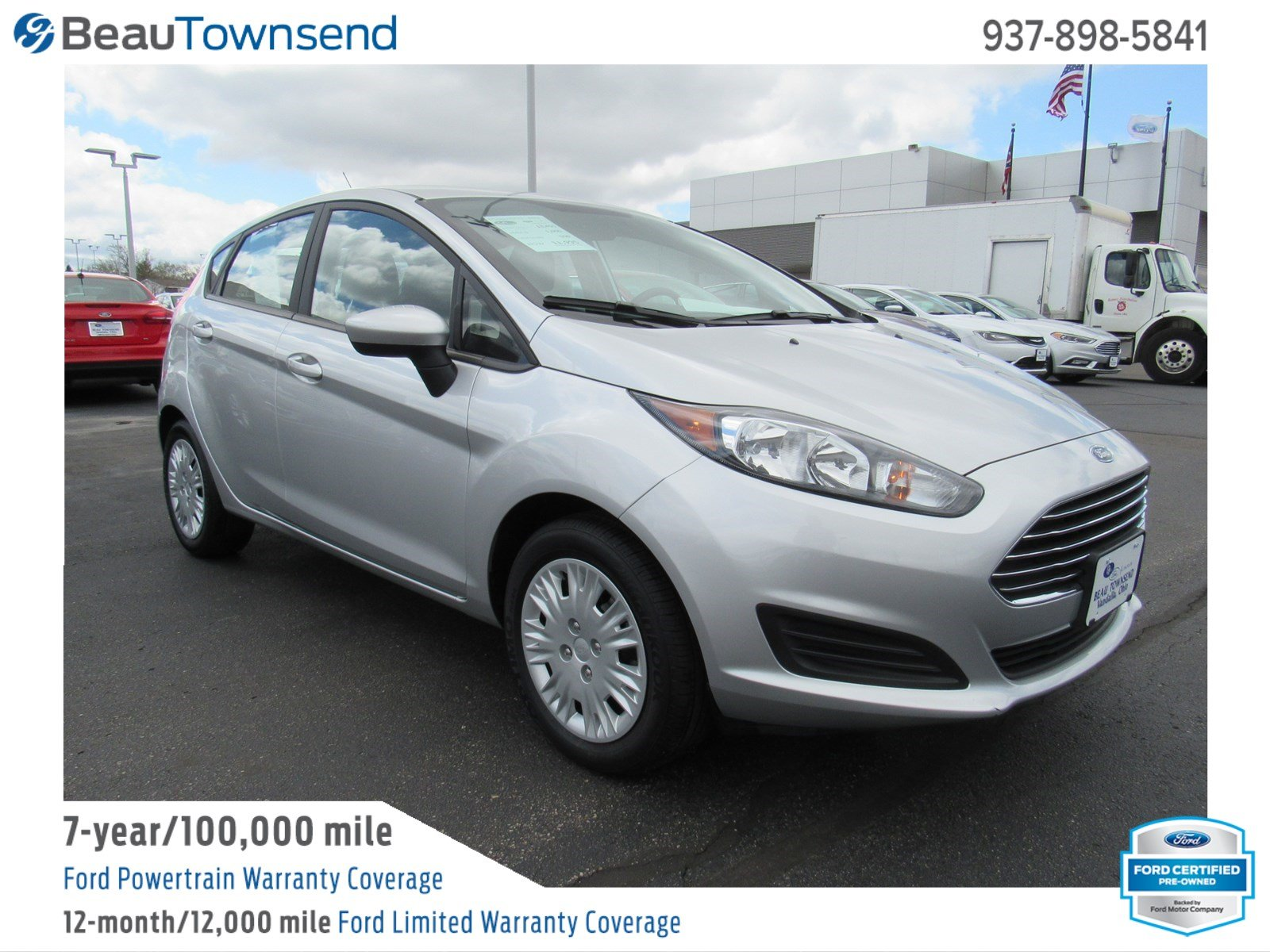 Certified Pre Owned 2017 Ford Fiesta S