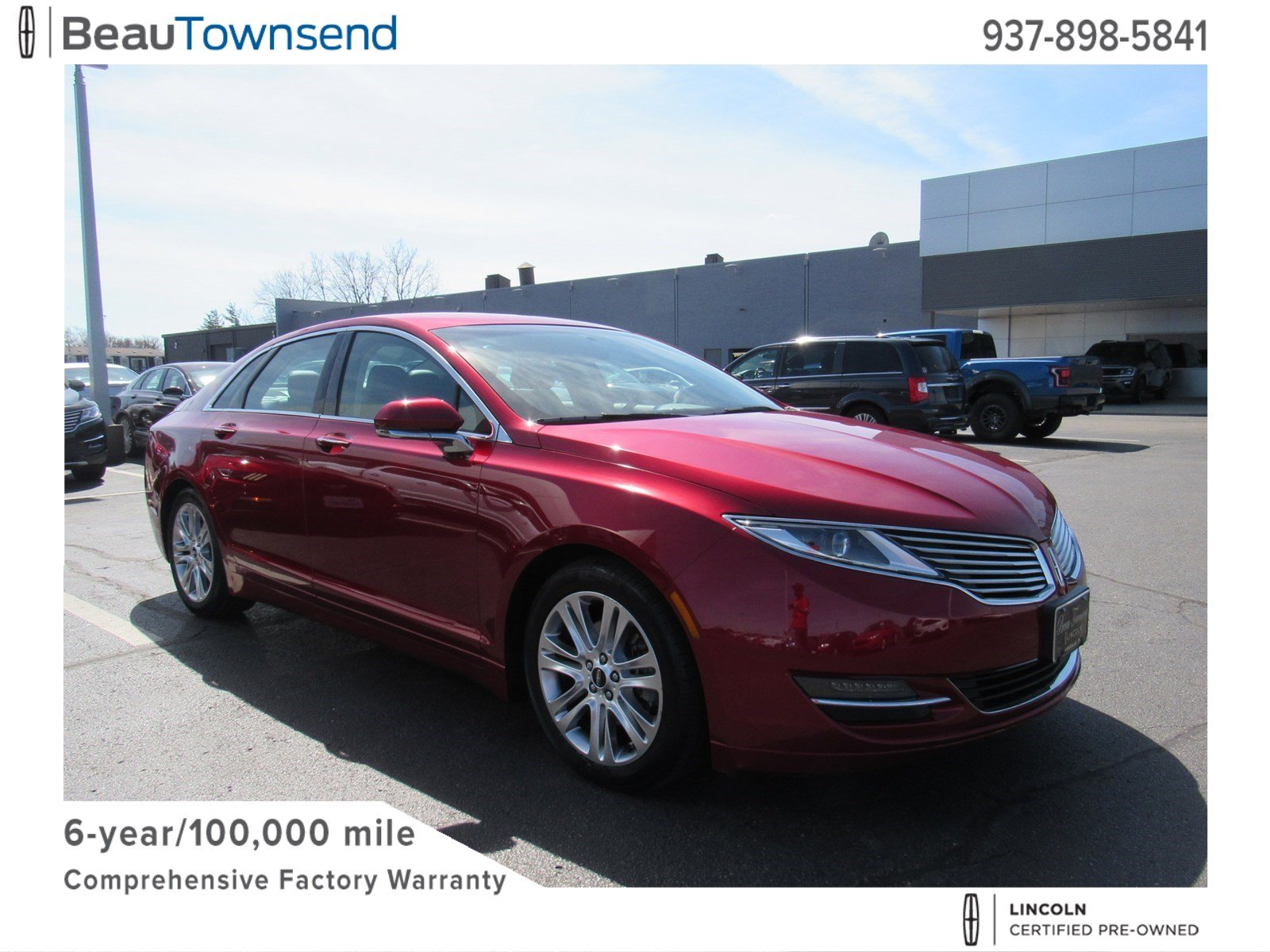Certified Pre Owned 2016 Lincoln Mkz Fwd