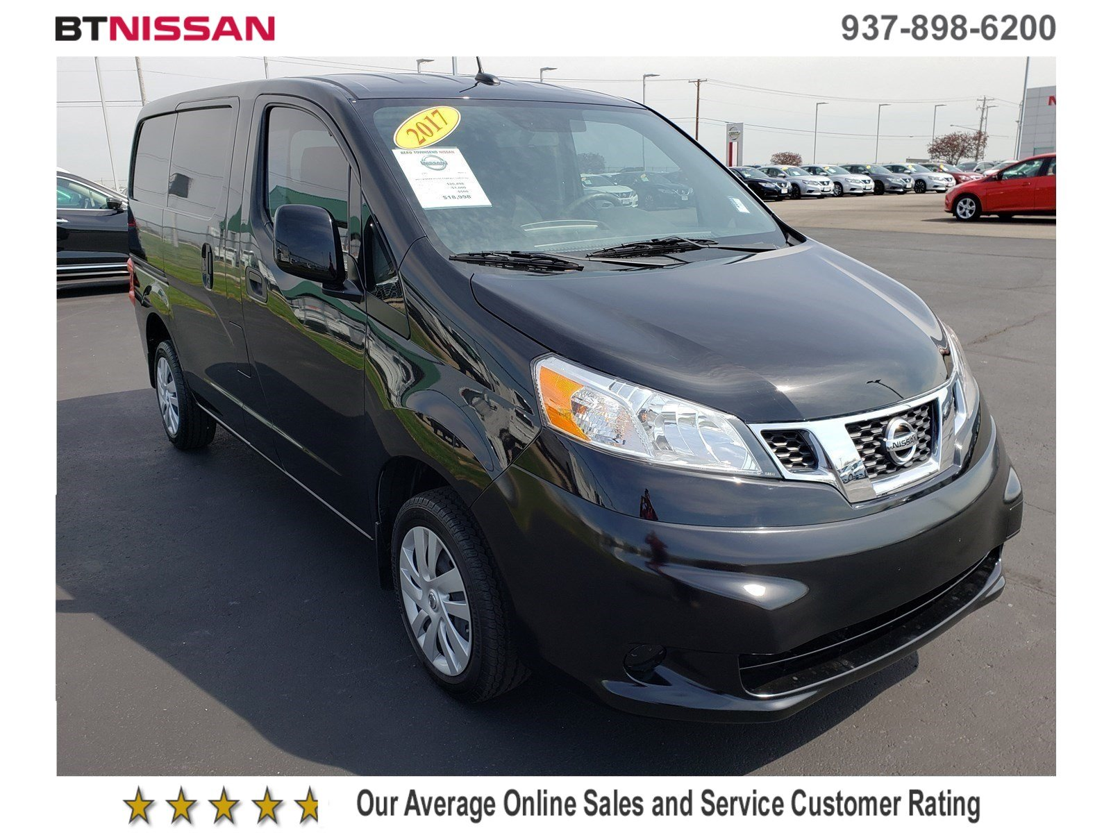 Pre Owned 2017 Nissan Nv200 Compact Cargo Sv