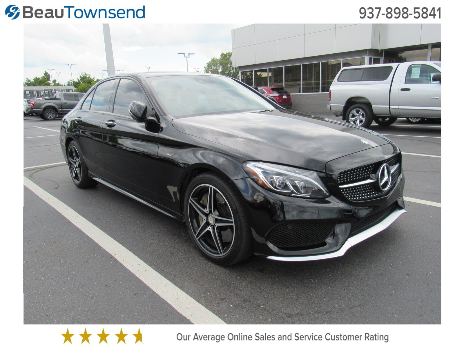 Pre Owned 2016 Mercedes Benz C Class C 450 AMG 4dr Car in Vandalia