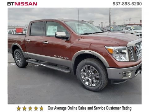 New 2019 Nissan An Platinum Reserve Crew Cab Pickup In Vandalia N19t055 Beau Townsend